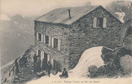 REFUGE TORINO AU COL DU GEANT - N° 5615 - Italy