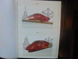 CHEMINS DE FER 1996-2013 CARTES DONT QUELQUES OBL.1er JOURS SUPERBE ENSEMBLE ! (2715) 2 KILOS 400 - Railway