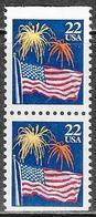 Stati Uniti/United States/États Unis: Bandiera, Flag, Drapeau, (senza Gomma, No Gum) - Sellos