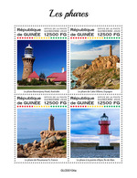 Guinea  2020 Lighthouses. (0104a)  OFFICIAL ISSUE - Faros
