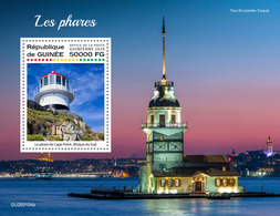 Guinea  2020 Lighthouses. (0104b)  OFFICIAL ISSUE - Faros