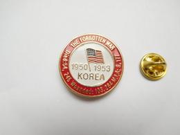 Beau Pin's En Relief , Armée Militaire , Guerre De Corée ,  The Forgotten War  , Korea 1950 1953 - Militares