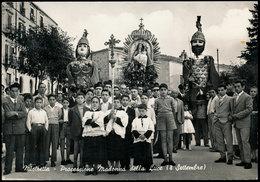 MISTRETTA (MESSINA) PROCESSIONE MADONNA DELLA LUCE (8 SETTEMBRE) 1962 - Messina