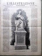 L'Illustrazione Italiana 27 Luglio 1890 Scozia John Knox Stanley Palermo Casati - Vor 1900
