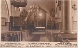 AKEO Card About Former St Nicholas Church In Pärnu (Estonia) - Text In Estonian, German, Esperanto - 1920's St. Nikolao - Esperanto