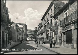 MISTRETTA (MESSINA) CORSO PRINCIPE DI PIEMONTE 1963 - Messina