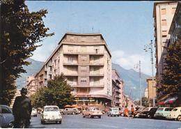 BOLZANO ANGOLO VIA ROMA CON VIA VICENZA - AUTO - HOCKEY BAR CON INSEGNA PUBBLICITARIA BIRRA FORST - CAFFE' PAULISTA - Bolzano (Bozen)