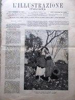 L'Illustrazione Italiana 3 Agosto 1890 Viking Regate Rapallo Dante Ravenna Aires - Vor 1900