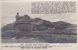 AKEO Card About Ruins Of Virtsu Castle - Text In Estonian And Esperanto - 1920's Ruinoj De Mezepoka Fortikajxo - Esperanto
