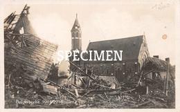 Fotokaart 1914-18 Kerk - Balgerhoeke - Maldegem