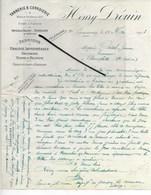 55 - Meuse - COMMERCY - Facture DROUIN - Tannerie, Corroierie, Fabrique De Graisse Imperméable - 1903 - REF 287 - France