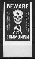 Ukraine 1968 Detroit, Anti-Soviet Propaganda Underground Post, VF MNH**, No Gum As Issued (LTSK) - Ucrania