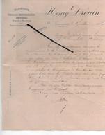 55 - Meuse - COMMERCY - Facture DROUIN - Fabrique De Graisse Imperméable - 1903 - REF 287 - France