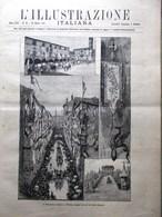 L'Illustrazione Italiana 10 Agosto 1890 Castello Bracciano Buenos Aires Trento - Vor 1900