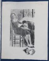 2 Dessin Numéroté Et Signé F. Revillon Couple D'amoureux - Drawings