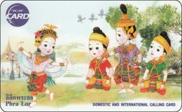 Thailand Phonecard TOT New Nr.205 D  Dancing In The Northern Thailand  Mint - Thailand