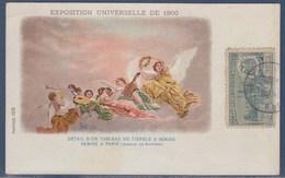 République Sud Africaine à L'Exposition Universelle De Paris 1900 Carte Postale Timbre Ferme Boer - Afrique Du Sud (1961-...)