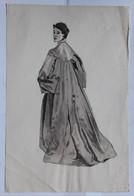 2 Dessin Portrait De Femme Mode - Drawings