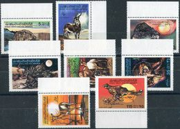 Libya 1979. Michel #707/11 MNH/Luxe. Fauna. Animals. (B26) - Libia