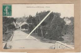 Dept 45 : ( Loiret ) Chatillon Sur Loire, L'Entrée Du Village, Prise Du Canal. - Chatillon Sur Loire