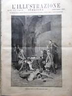 L'Illustrazione Italiana 17 Agosto 1890 Piramidi Carl Peters Monte Rosa Agordat - Vor 1900