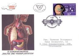 OSTERREICH FDC EUROP KONGRESS 1990  COVER  (MAGG200448) - Medicina