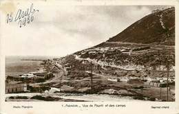 MAROC  AGADIR  Vue Du Founti Et Des Camps - Agadir