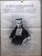 L'Illustrazione Italiana 24 Agosto 1890 Lonigo Lagune Grado Giappone Ginnastica - Vor 1900