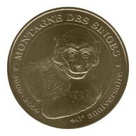 Monnaie De Paris , 2010 , Kintzheim , Montagne Des Singes , 1969-2009 - Monnaie De Paris