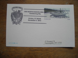 2013 USS North Dakota SSN-784 Sous-marin Submarine - Submarines