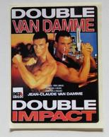 3 Autocollant Cinéma Jean Claude Van Damme Double Van Damme Double Impact 36 15 Van Damme Delta - Merchandising