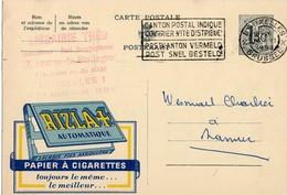 Publibel - 1525 - Rizla Automatique - Cigarette - Bruxelles - Namur - 16 Juin 1958. - Publibels