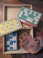 ANCIEN JEU DE LOTO COMPLET AVEC BOÎTE - Group Games, Parlour Games