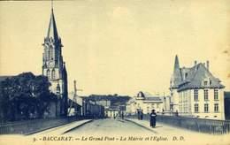 54 Baccarat Le Grand Pont  / A 620 - Baccarat