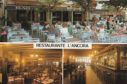 PORT BOU   -   Bar Restaurante    L'ANCORA     CPM - Peñón De Vélez De La Gomera