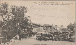 Marne :  SOUAIN : La  Barricade  Rte De  Sommepy - Autres Communes