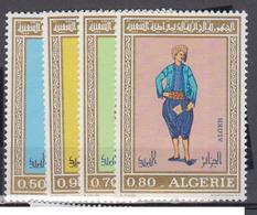 ALGERIE      1971     N °  538 / 541         COTE    8 € 25        ( E 212 ) - Algeria (1962-...)