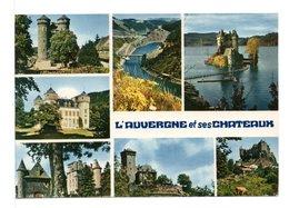 CPM - AUVERGNE - Cachet : LASCELLES (CANTAL) - Auvergne