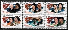 Cuba 2019 / Revolution Women Combatants MNH Mujeres Combatientes Revolución / Cu13500  C3-17 - Cuba