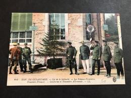CPA 1900/1920 La Schlucht Frontière Douaniers Français Gendarmes Et Douaniers Allemands - Gerardmer