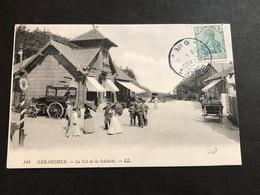 CPA 1900/1920 La Schlucht Frontière Animée Cachet Allemand Altenberg - Gerardmer