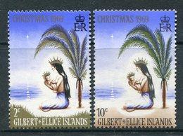 Gilbert And Ellice Islands 1969 Christmas Set MNH (SG 157-58) - Gilbert- Und Ellice-Inseln (...-1979)
