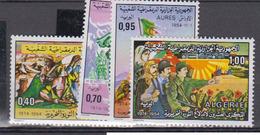 ALGERIE      1974     N °  599 / 602         COTE    4 € 15        ( E 216 ) - Algeria (1962-...)
