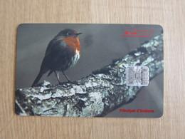Chip Phonecard,bird,used - Andorre