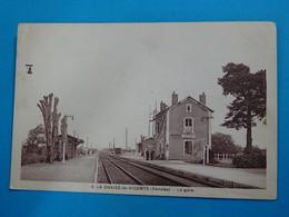 85 ) La Chaize-le-vicomte - N° 4 - La Gare   : EDIT : Jehly - La Chaize Le Vicomte
