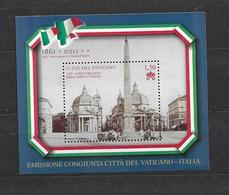2011 MNH  Vaticano Mi Block 35 - Blocks & Sheetlets & Panes