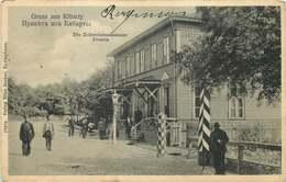 LITUANIE  Gruss KIBARTY - Litouwen