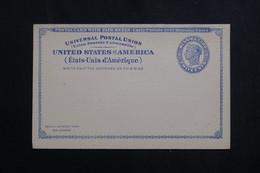 ETATS UNIS - Entier Postal Avec Réponse ,non Circulé - L 61667 - ...-1900