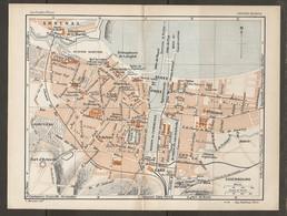 CARTE PLAN 1926 - CHERBOURG ARSENAL INTENDANCE DE LA MARINE AVIATION MARITIME SÉMAPHORE DE LONGLET CASINO HOTEL DE ÉMIGR - Mapas Topográficas