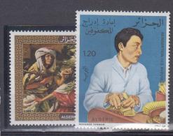 ALGERIE      1976     N °  649 / 650        COTE    6 € 20        ( E 218 ) - Algeria (1962-...)